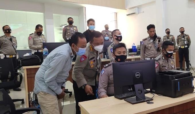 Ombudsman RI Banten, Pantau Kesiapan Pelaksanaan e-Tilang Polda Banten