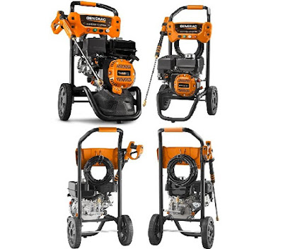 OneWash Gas-Powered Pressure Washer with Integrated PowerDial by Generac (7019/70191)