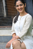Radhika Cute Young New Actress in White Long Transparent Kurta ~  Exclusive Celebrities Galleries 034.JPG