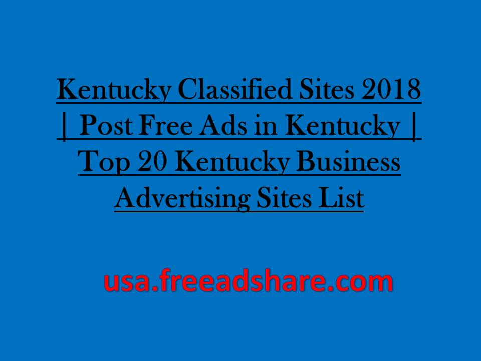 USA Classifieds Sites, USA Free Ads Post Sites, Instant Approve ...