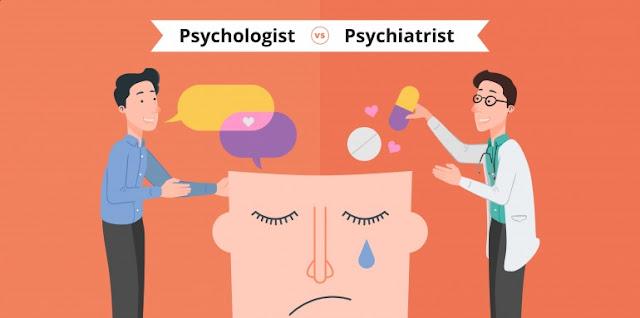 Cili është ndryshimi midis një psikologu dhe një psikiatri?