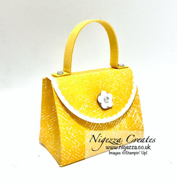 Nigezza Creates with Stampin' Up! Confetti Border Punch