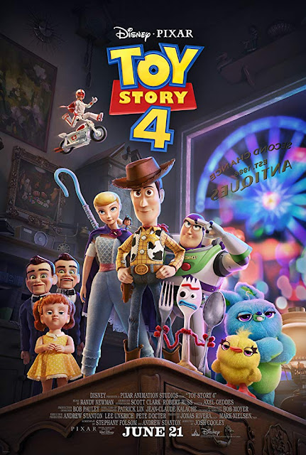 Movie poster for Pixar Animation Studios and Walt Disney Pictures's film Toy Story 4