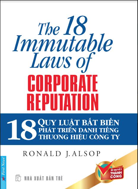 18 quy luật bất biến xây dựng thương hiệu công ty