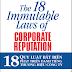 18 Quy luật bất biến phát triển danh tiếng thương hiệu doanh nghiệp