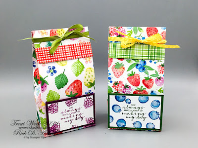 Berry Blessings Gift Bag How to by Rick Adkins