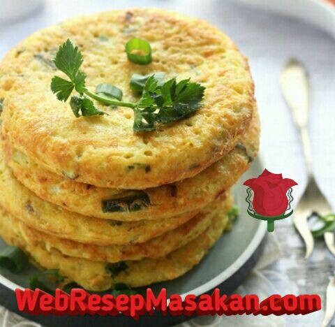 Pancake Kentang Keju, Resep pancake kentang keju,