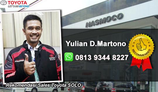 Rekomendasi Sales Toyota Solo