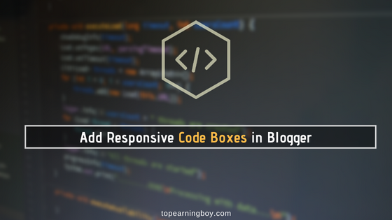 Responsive Code Boxes for Blogger