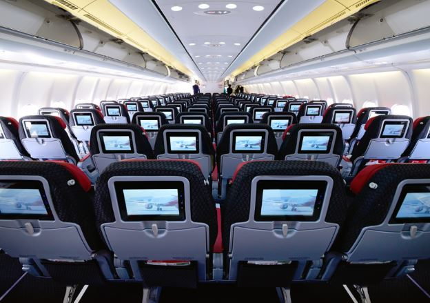 Airbus A330-200 cabin