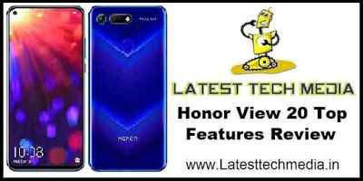 Honor View 20 Top Features Review