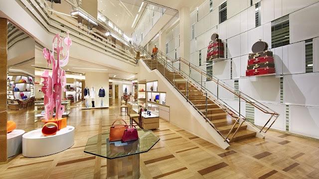 Compras na Louis Vuitton na Califórnia
