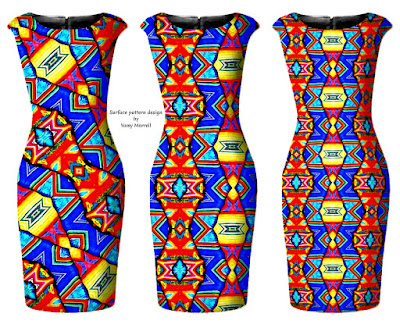 African-pattern-pencil-dress-by-yamy-morrell