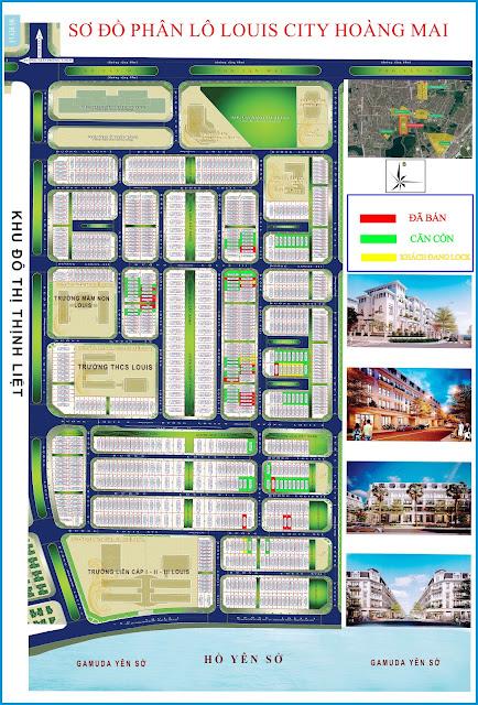Mở bán dự án Louis City Tân Mai Hoàng Mai chung cư biệt thự liền kề shophouse