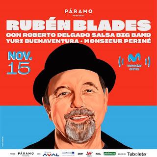 Concierto de RUBEN BLADES en Bogotá