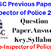 HPSSC SI Previous Years Question Paper,Answer Key 2010 ! HP Sub Inspector OF Police Question paper 2010