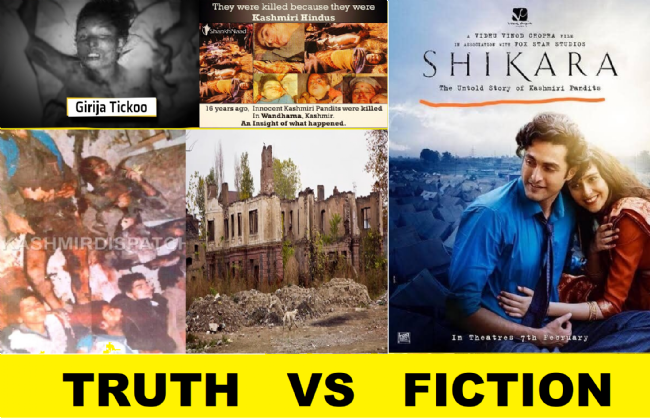 Shikara - Bollywood's yet another attempt to whitewash the genocide of Kashmiri Pandits