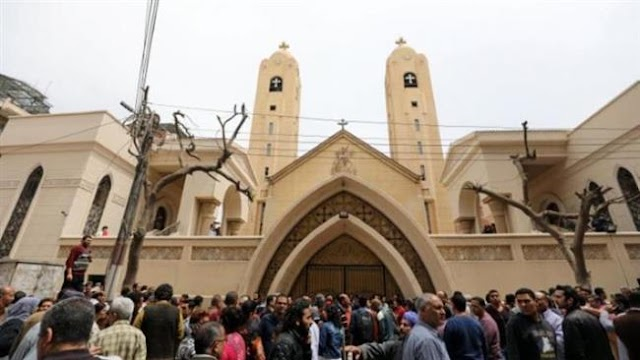 Egypt detains 15 after dozens attack Coptic church south of Cairo