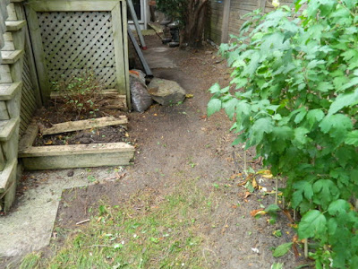 Toronto High Park Back Yard Fall Cleanup After by Paul Jung Gardening Services--a Toronto Organic Gardener