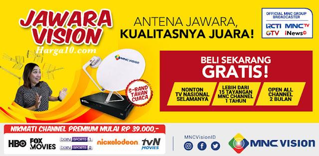 Daftar Harga Paket Jawara Vision