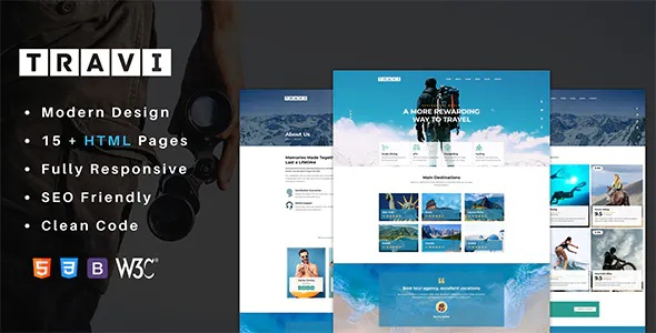 Best Tour Guide And Excursions HTML Template