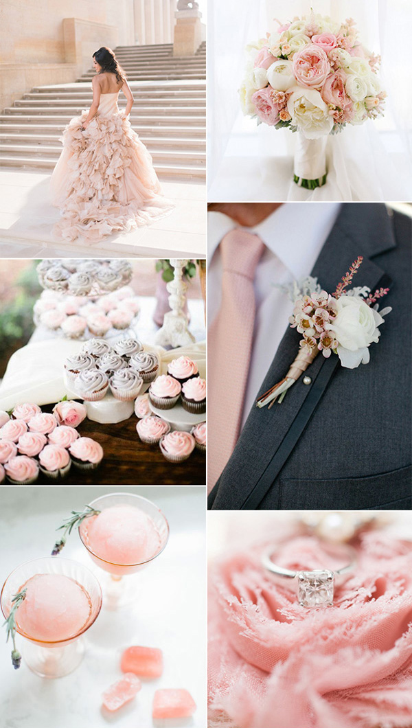 As A Shade Of Orange Peach Echo Is Another Trending Wedding Color In The Year 2016 Which Emanates Friendlier Qualities Evoking Warmth And Accessibility
