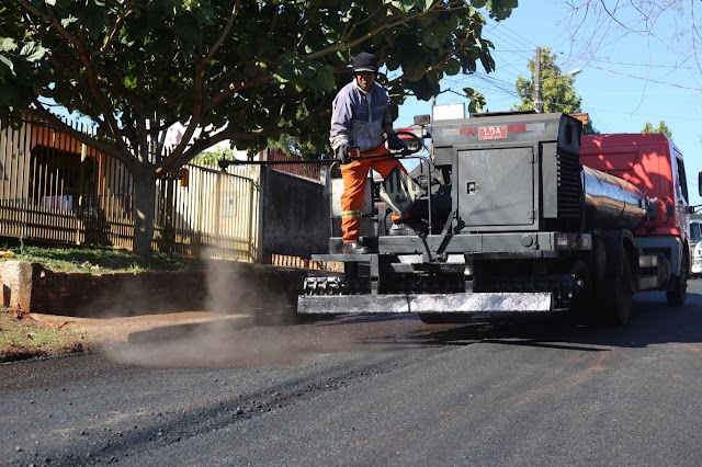 Pedido atendido: Pavimentação do Jardim Manaus é concluída