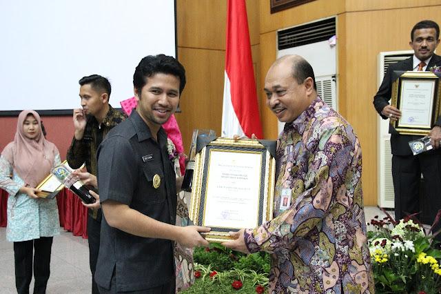 Kabupaten Trenggalek Raih Penghargaan Kabupaten Sehat Swasti Saba Wiwerda