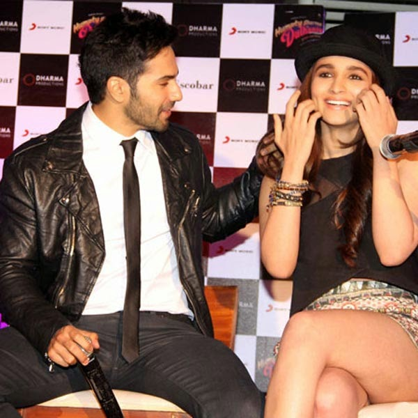 Varun Dhawan with Girlfriend Alia Bhatt Hot Mini Skirt HD ...