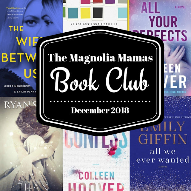 December 2018 Book Club Picks