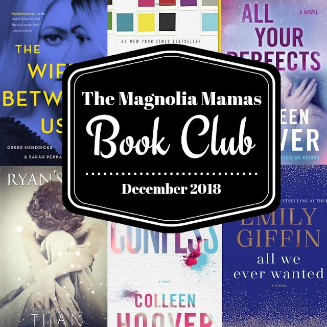 December 2018 Book Club Picks