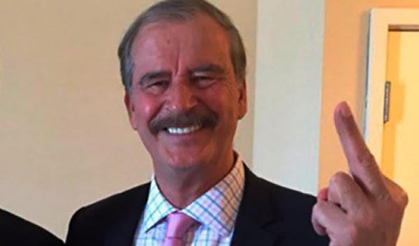 """Vicente Fox explota,  amenaza con irse de México  """"Me cansé de tanta corrupción""""."""
