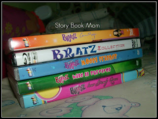 Bratz and Elmo's World in DVDs