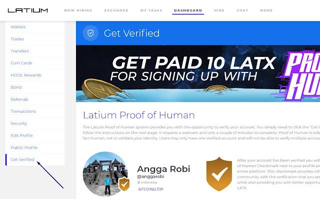 Cara Baru Mendapatkan Ethereum Gratis dari LatiumX