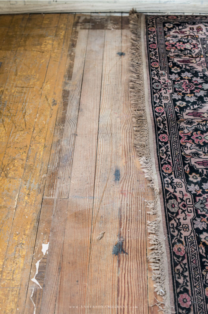 original hardwood floor