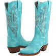 Lucchese turquoise boots.