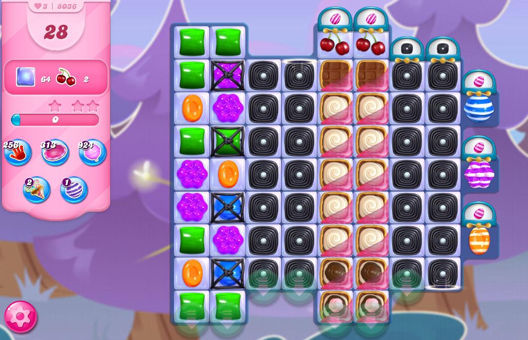 Candy Crush Saga level 8036