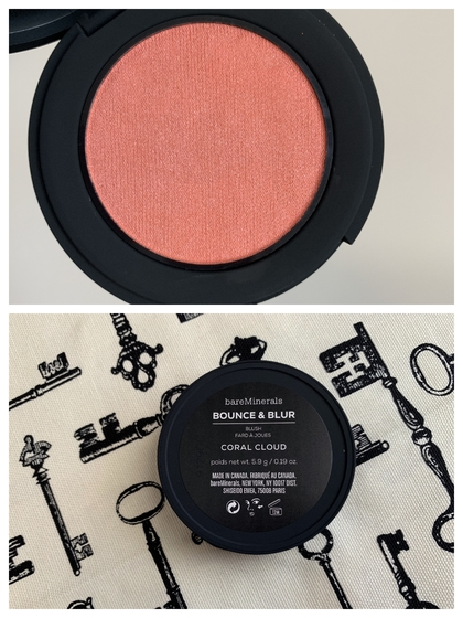 bareMinerals Bounce and Blur Coral Cloud Blush