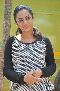 Actress Namitha Pramod Stills on talabbayi sets  0003.jpg