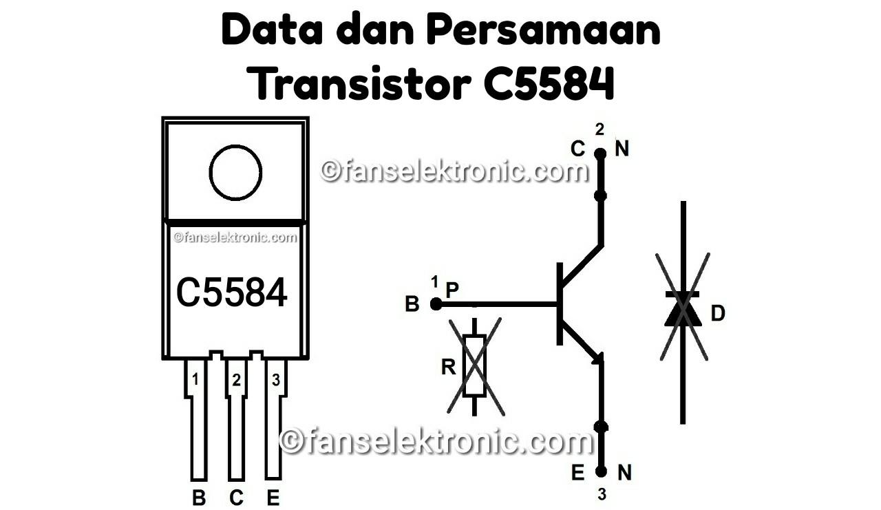 Persamaan Transistor C5584