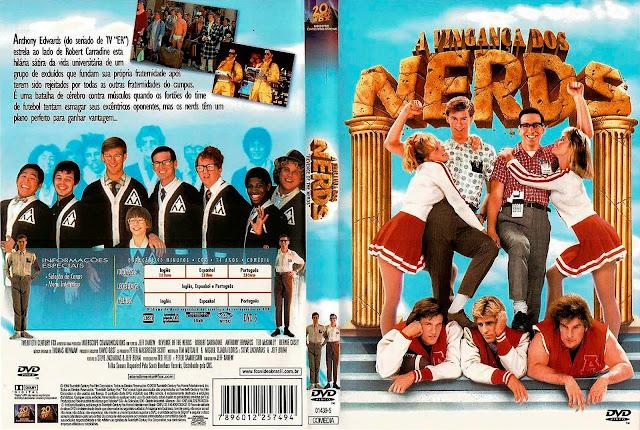 Capa DVD A Vingança dos Nerds