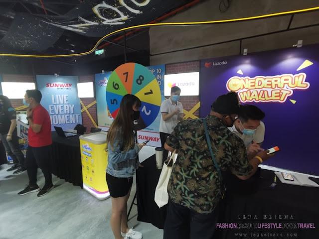 Gambar semasa majlis soft launch realme 828 Fans Festival