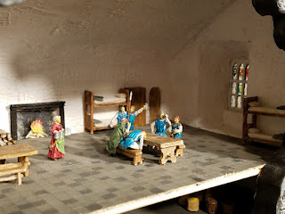 Bunratty-Castle-Diorama-Guards-Room