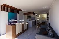 Desain Interior Cafe Industrial Kekinian