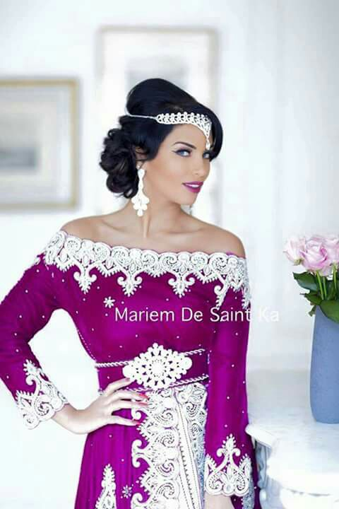 37e0f705c تشكيلة موديلات لتصديرة العروسة Tasdira 3roussa - عبير الورد
