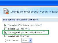 Cara Mengaktifkan Tab Developer di Excel