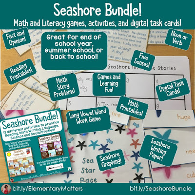 https://www.teacherspayteachers.com/Product/Seashore-Learning-Collection-Bundle-3872688?utm_source=blog%20post%20sick%20of%20winter&utm_campaign=Seashore%20Bundle
