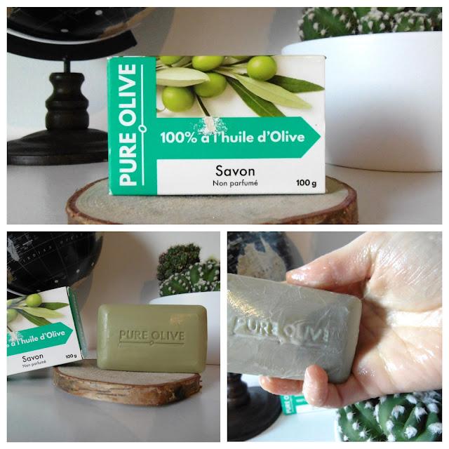 Savon non parfumé 100% huile d'olive - Pure Olive