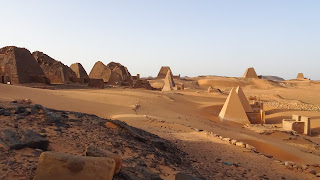 In Sudan in Meroe are way more of them than in Egypt
