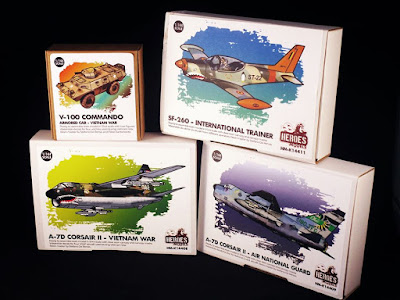 Four New 1/144 Resin Kits from Heroes Models